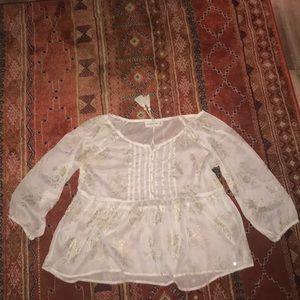 Women's Abercrombie blouse medium